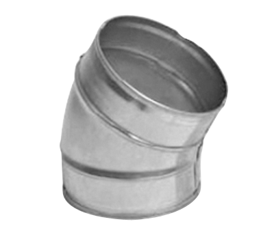 Curva liscia 30°  Pezzi speciali per condotti circolari per ... 06db8778f57d