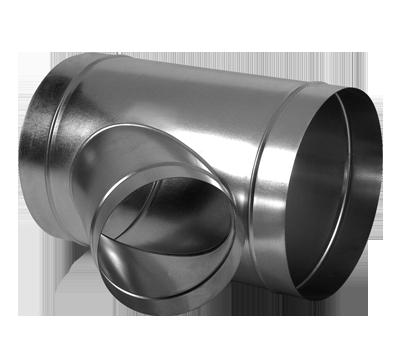 Deviazione simmetrica a 45°  Pezzi speciali per condotti circolari ... 12a9b51883c6