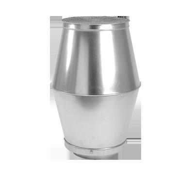 Cappello biconico  Pezzi speciali per condotti circolari per ... 88c1a87e2d1b