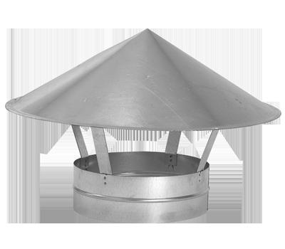 Cappello cinese  Pezzi speciali per condotti circolari per ... cf64b6522544